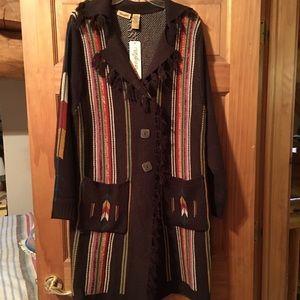New Wrangler Long Sweater